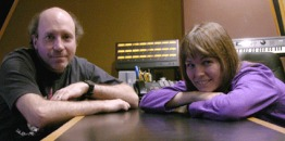 Recoirding projects - Chris and Jody at Cue Recording