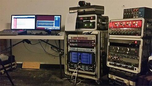 Live Recording System RHL Audio
