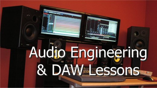Audio Engineering and DAW lessons